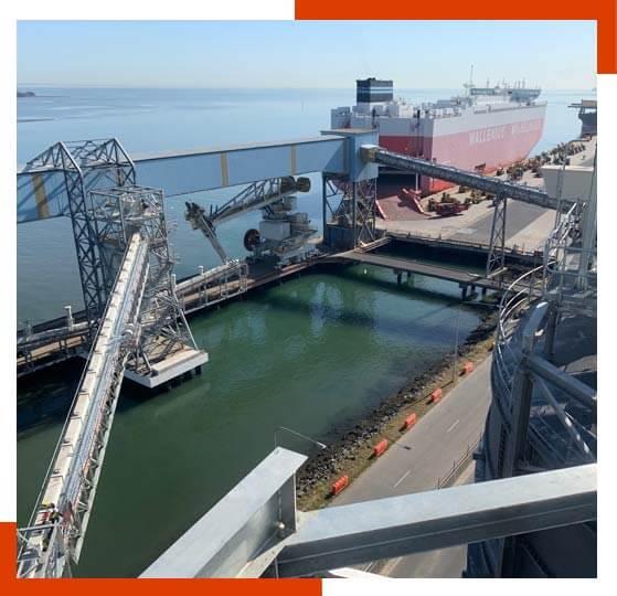 FPM Ship Unloading